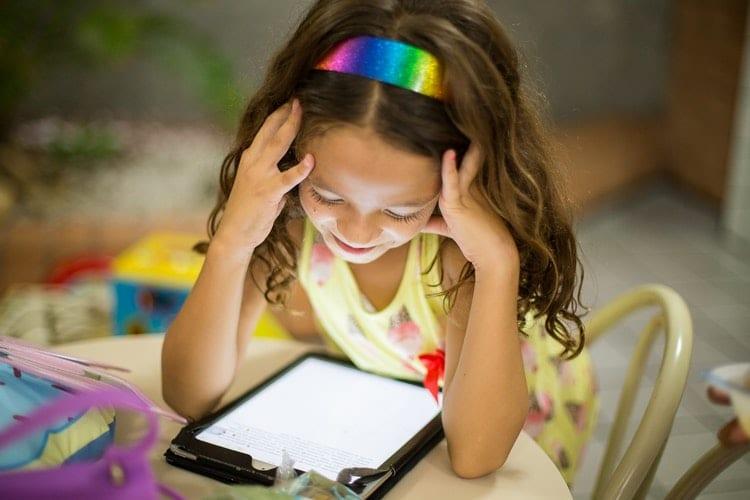 idade criança tablet