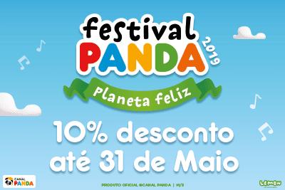 descontos festival panda