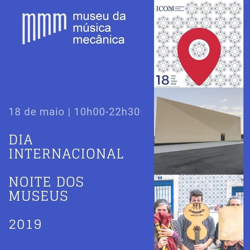 Dia / Noite dos Museus, no Museu da Música Mecânica
