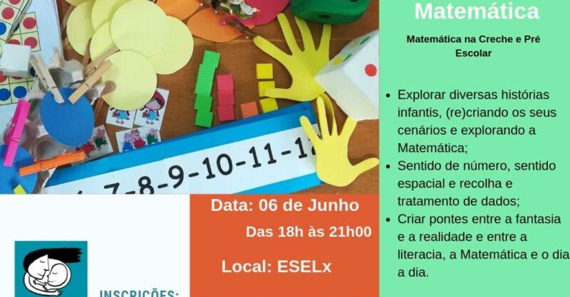 """2 Edição – Workshop """"Histórias e Matemática – A Matemática na Creche e Pré Escolar"""""""