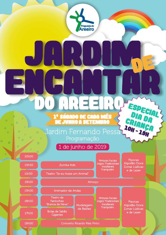 Jardim de Encantar do Areeiro | Especial Dia da Criança