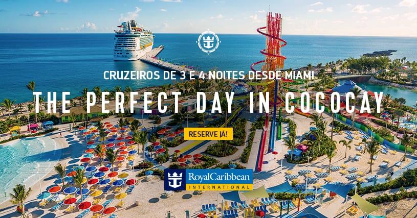 Bahamas Cococay cruzeiros Royal Caribbean