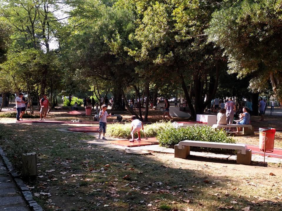 Festa de Verão Clube Minigolfe do Porto