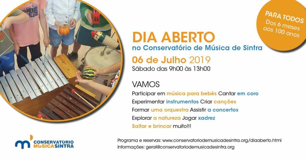 Dia aberto no Conservatório de Música de Sintra