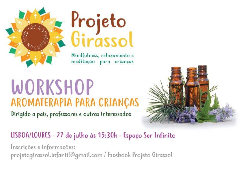 Workshop de Aromaterapia para Crianças