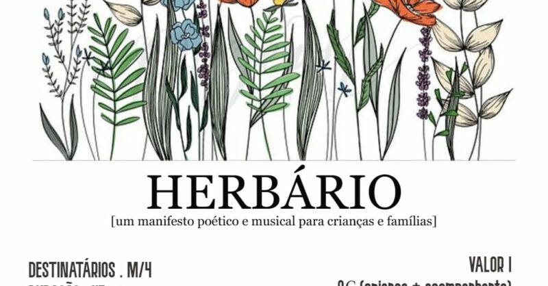 Herbário | Espetáculo de música e narração oral para crianças
