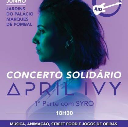 Teen Alive Aid com Concerto Solidário da April Ivy