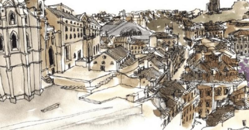 Impossibilidades com Mário Linhares de Urban Sketchers | Festival Artes à Vila