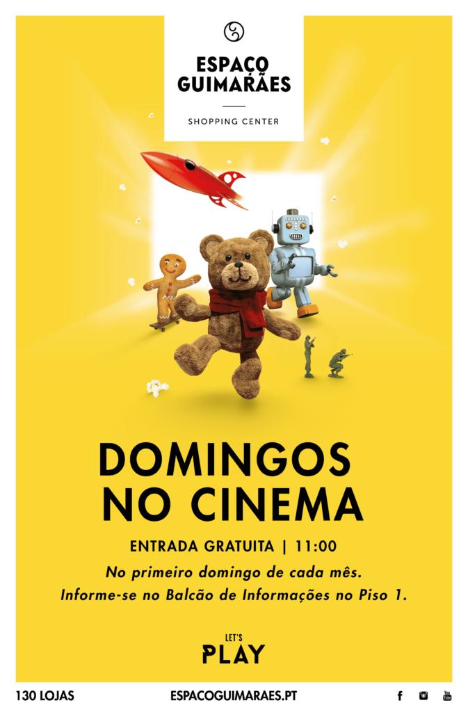 Espaço Guimarães_Domingos no Cinema