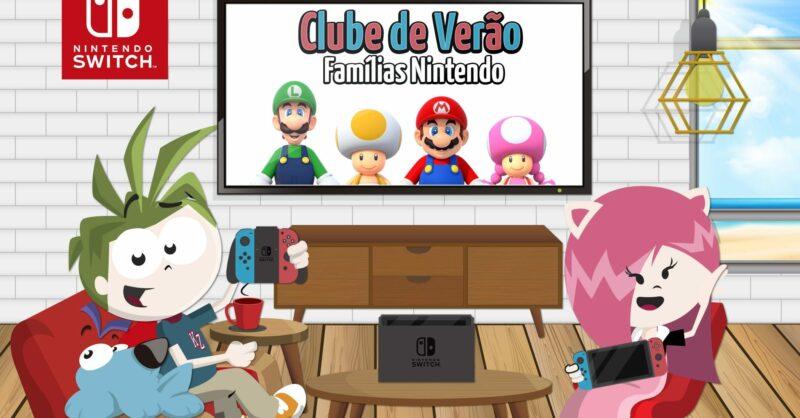A Kidzania abre as portas ao Clube de Verão – Famílias Nintendo!