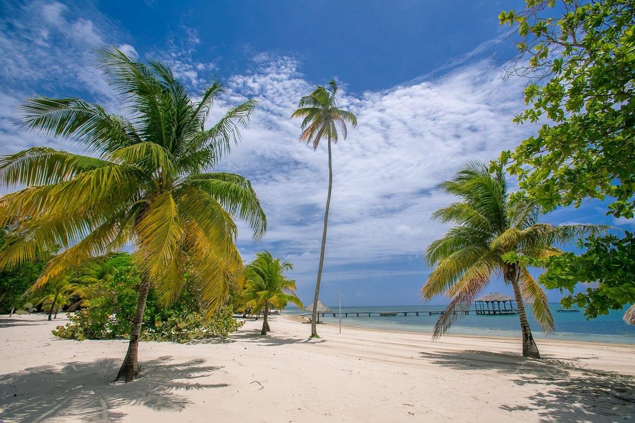 Praia nas Caraíbas