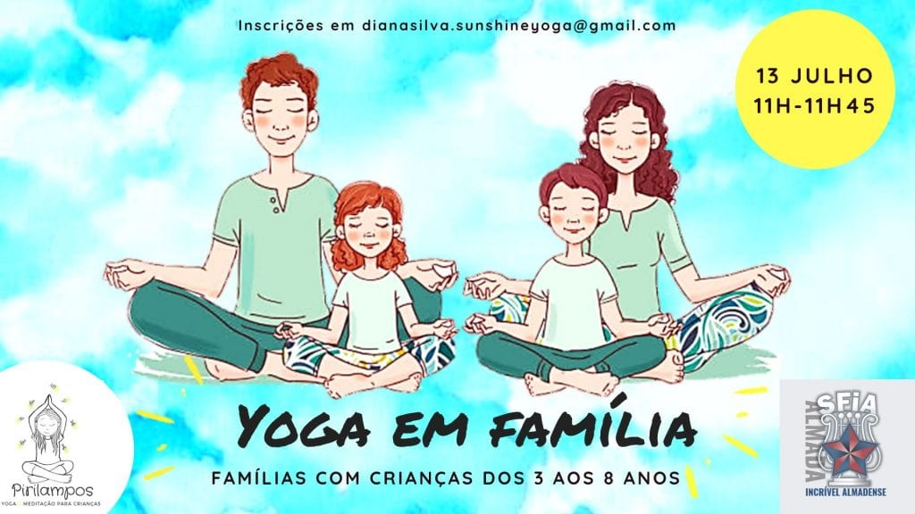 Yoga em família