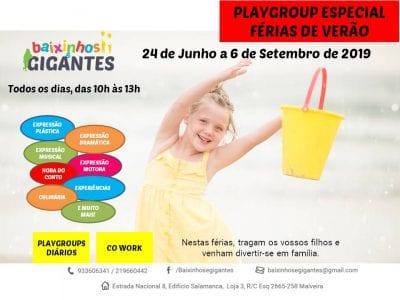 Playgroups Especial Férias de Verão