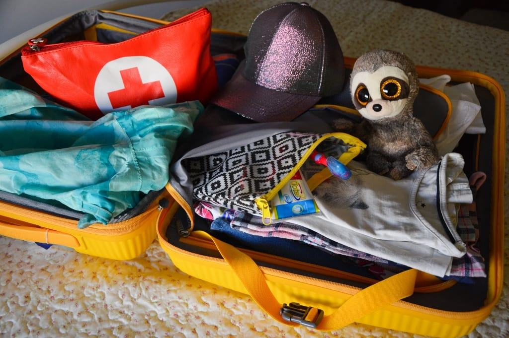 fazer malas para emergencias e para dormir o ó-ó)