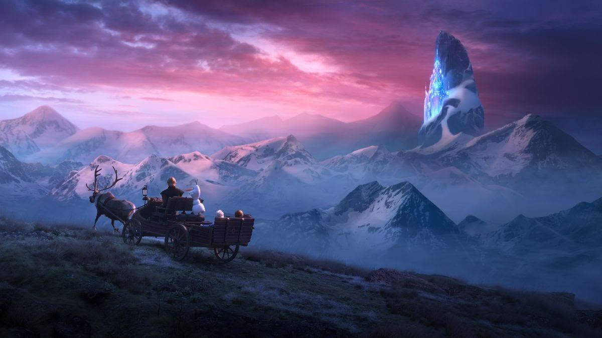 frozen viagem