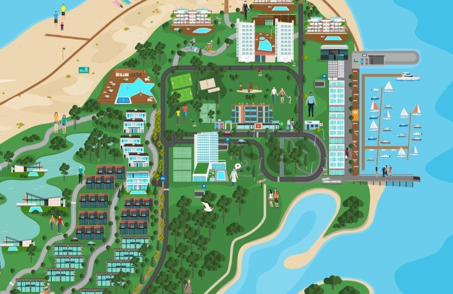 mapa interativo aqualuz