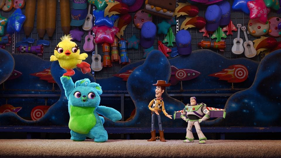 novas personagens toy story