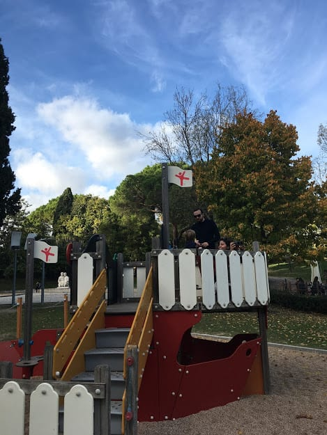 Parque infantil Eduardo VII