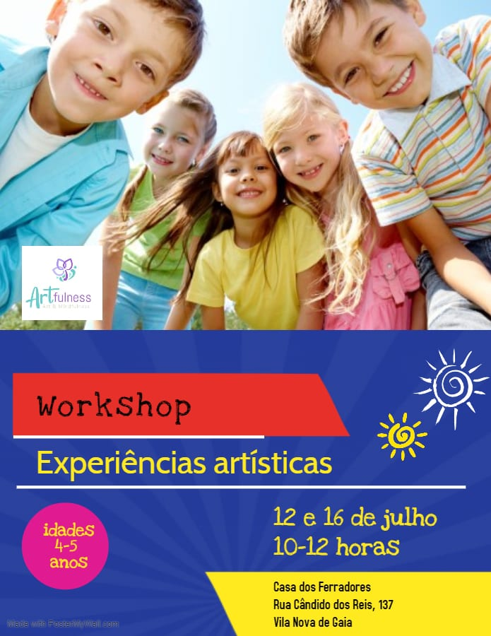 Experiências artísticas – workshop