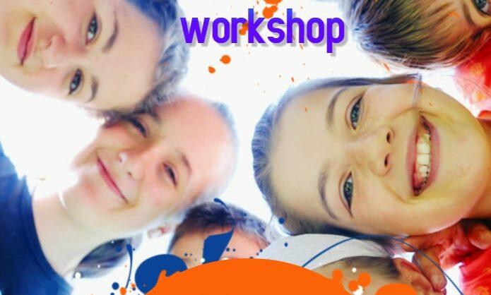 Workshop de Experiências Artísticas para crianças dos 9 aos 13 anos