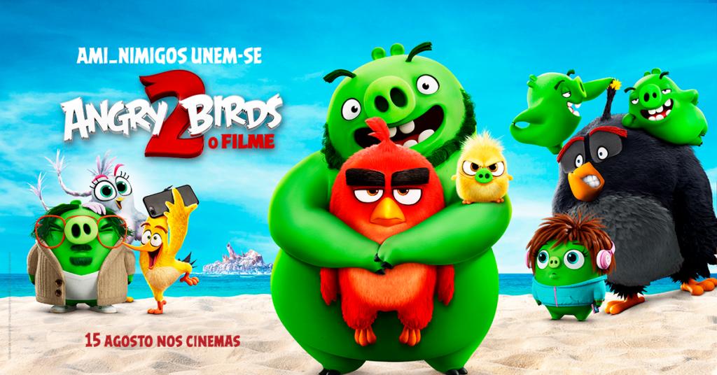 ANGRY BIRDS 2 o filme