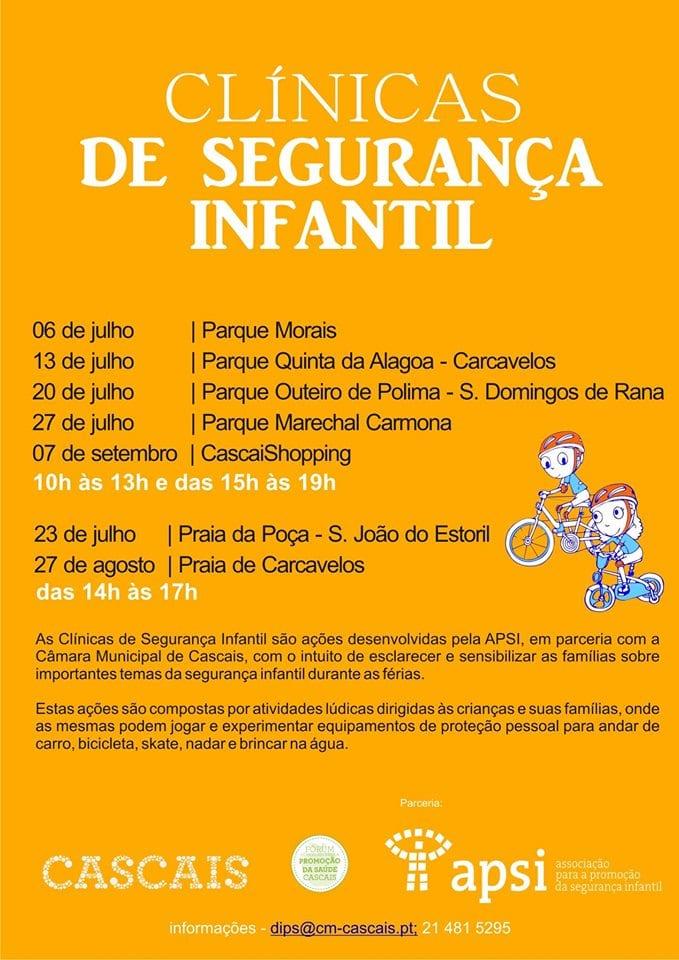 Clinicas de Segurança Infantil
