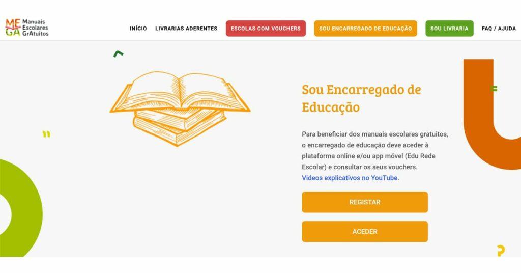 Manuais escolares - registro MEGA