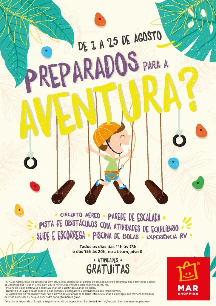 Parque Aventura_1a 25 de agosto_MAR Shopping Matosinhos