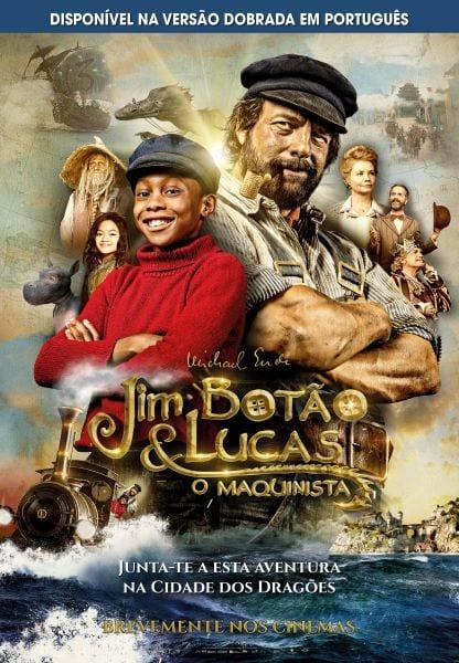 Poster Jim Botão e Lucas Maquinista