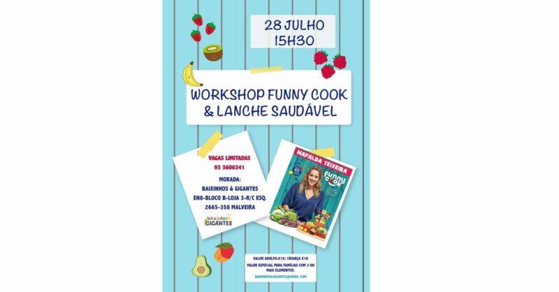 Workshop Funny Cook & Lanche Saudável