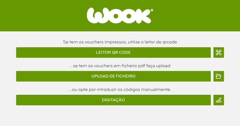 app wook desktop - upload dos vouchers para manuais escolares gratuitos