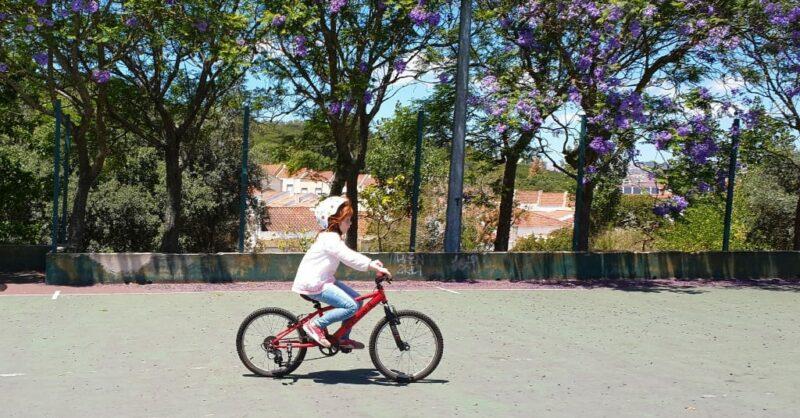 Aprender a andar de bicicleta