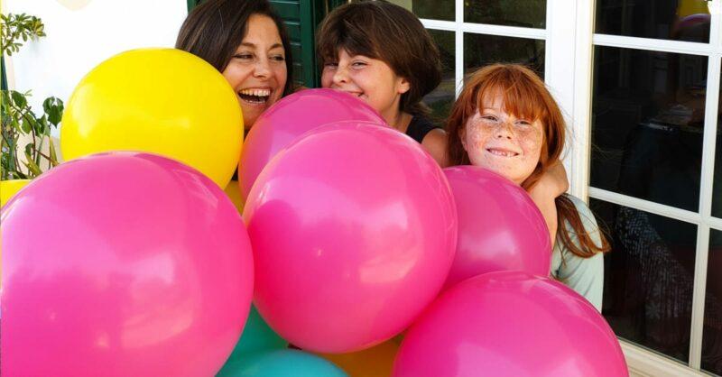 Bunch O' Balloons Party: encher 40 balões em 40 segundos!