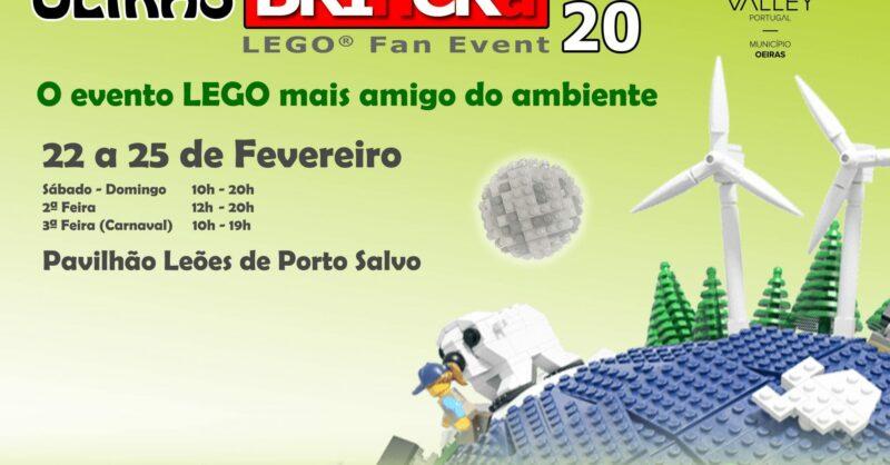 Está de volta o Oeiras BRInCKa LEGO®️ Fan Event