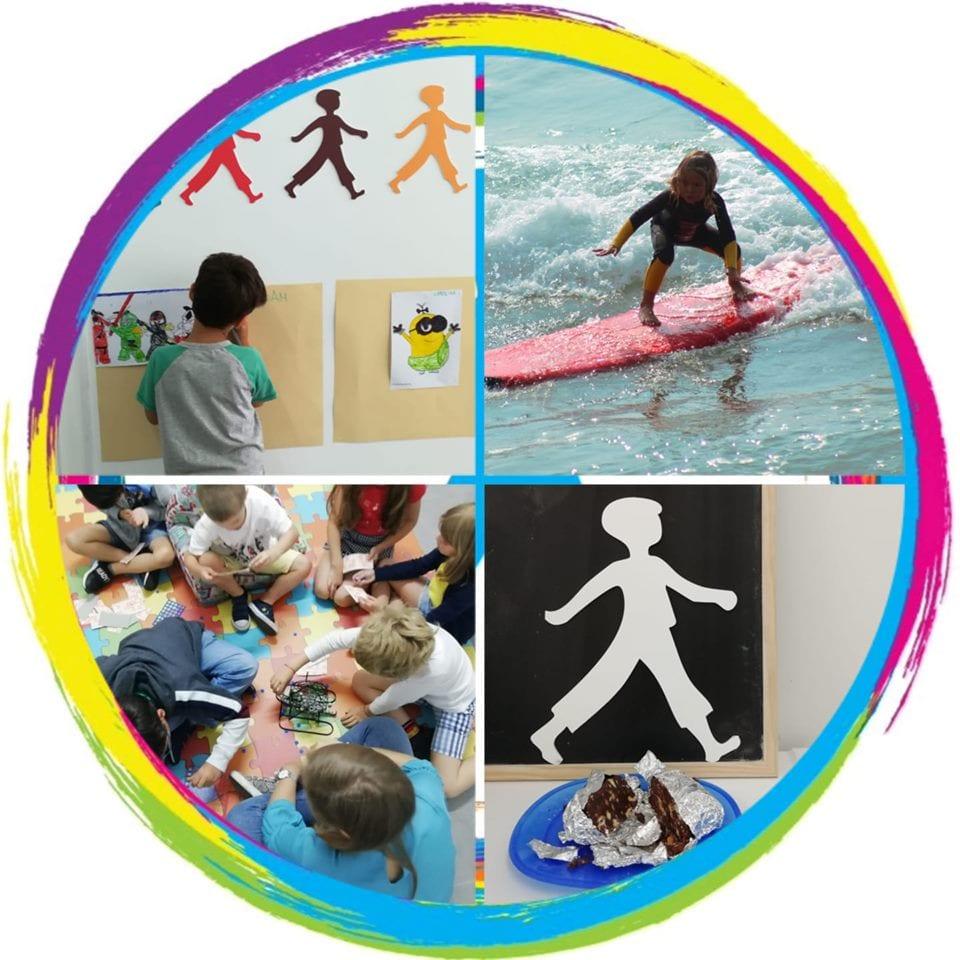 Férias em Inglês com surf e muitas atividades