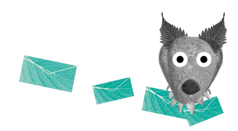 Abre a carta, Lobo Mau!