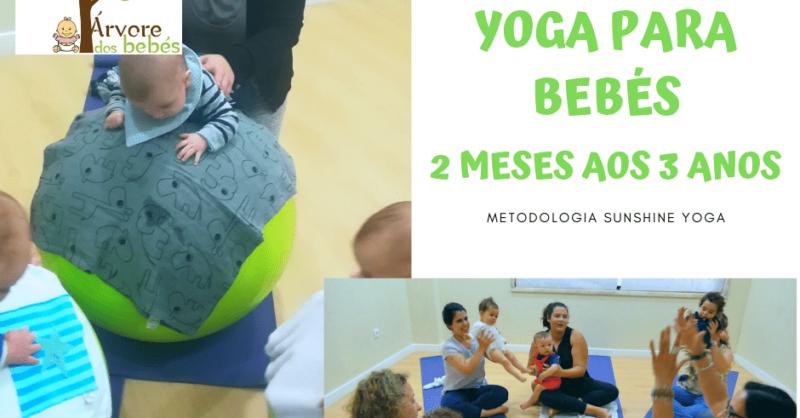 Yoga Baby com a Árvore dos Bebés
