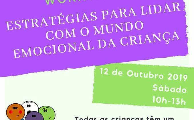 Workshop – Estratégias para lidar com o mundo emocional da criança