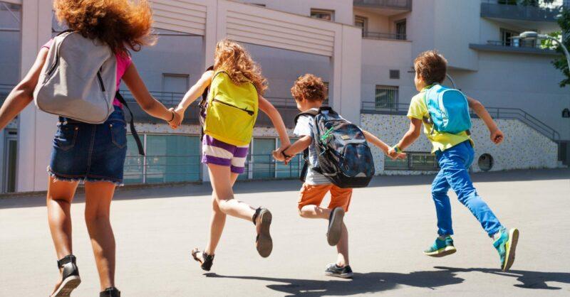 Energia para as crianças do começo ao fim do dia