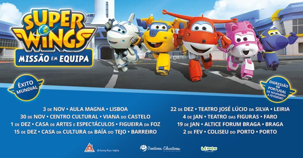 Tour Super Wings