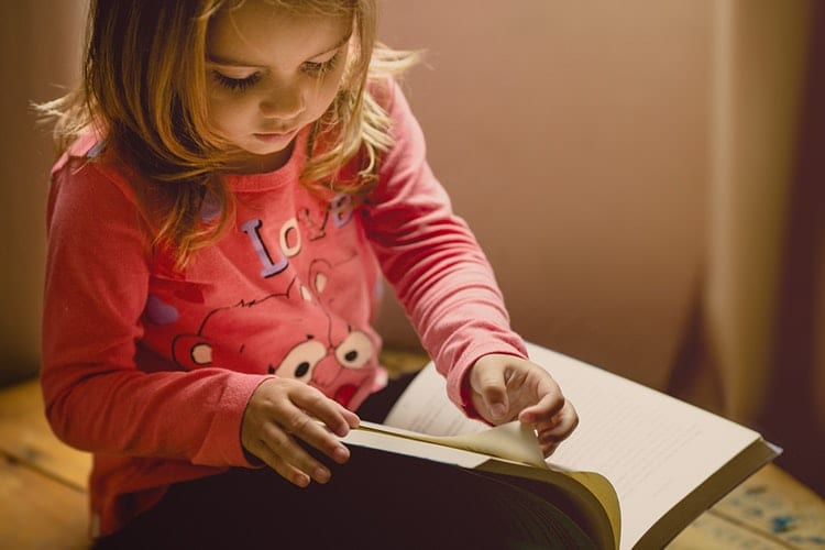 crianças ler consistência