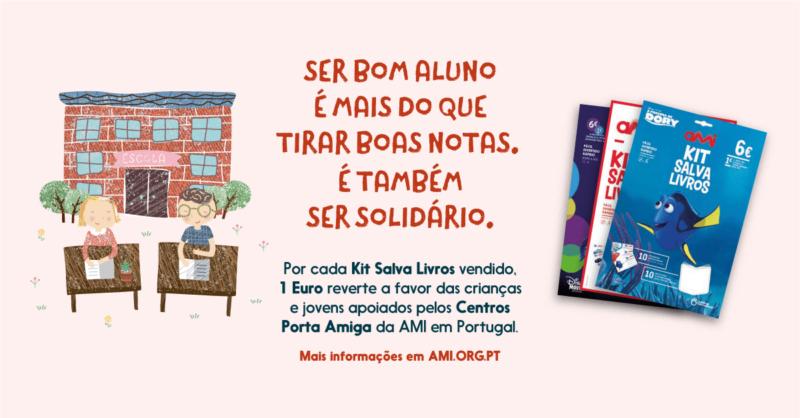 Já salvou um livro hoje? Com o Kit Salva Livros da AMI pode fazê-lo!