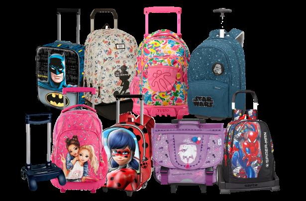 mochilas com rodinhas mini