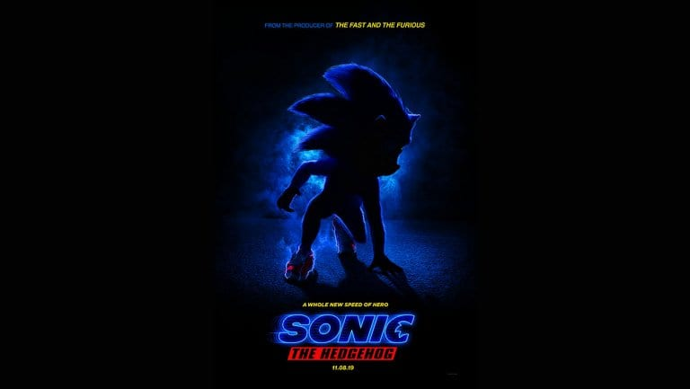 sonic o filme poster