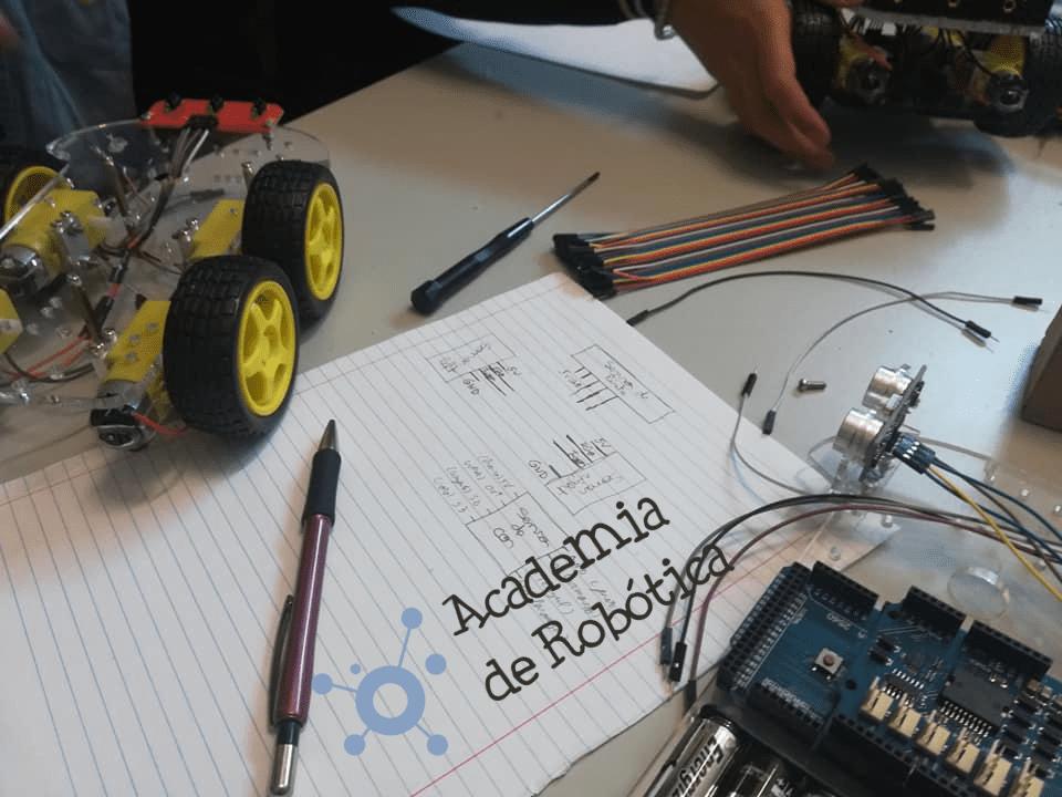 Curso de Robótica Nível I [Porto]