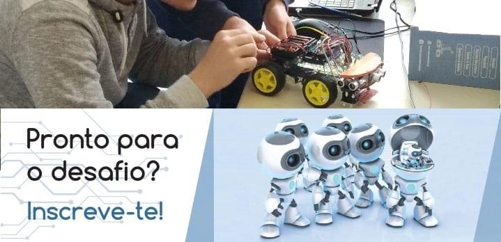 Curso de Robótica Nível I em Lisboa no Espaço Atmosfera M