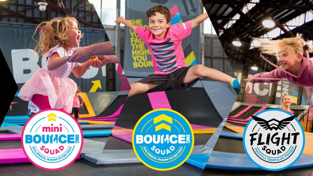 Bounce Squad FreeStyle Academy 3 programas