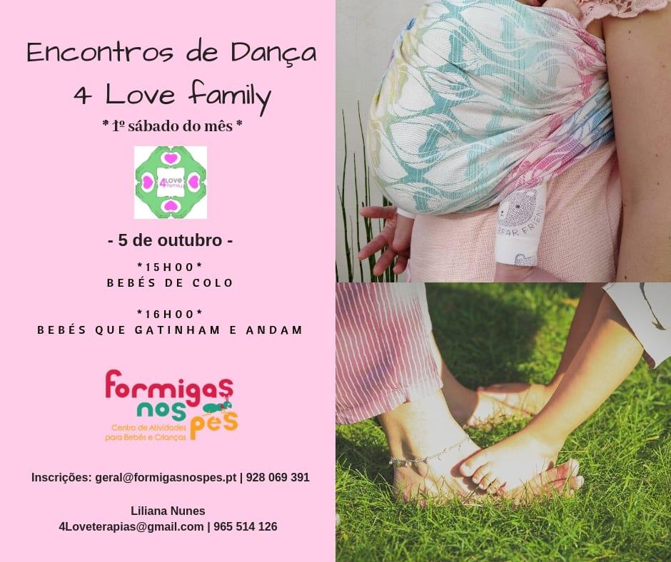 Encontros de Dança 4 Love Family