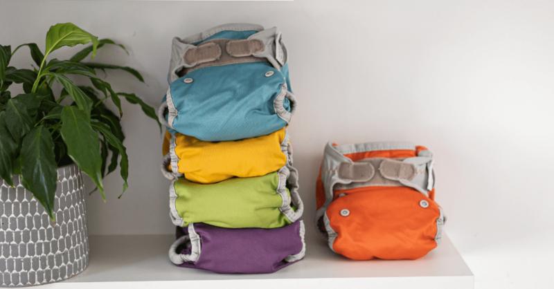 fraldas reutilizáveis