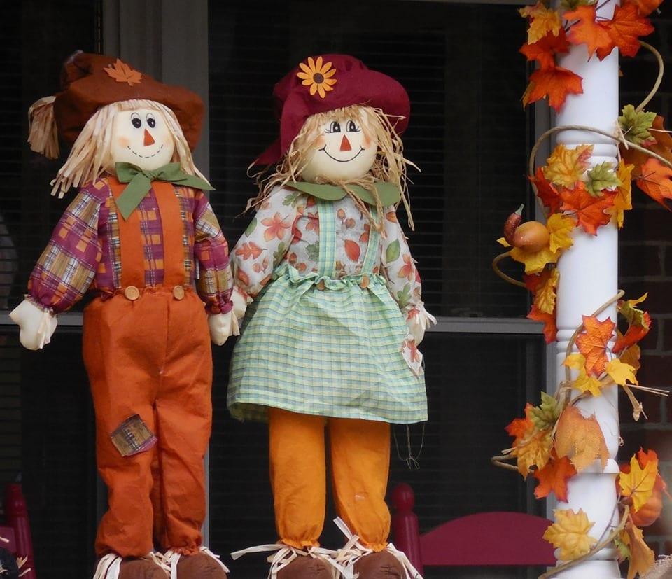 O outono no mercado